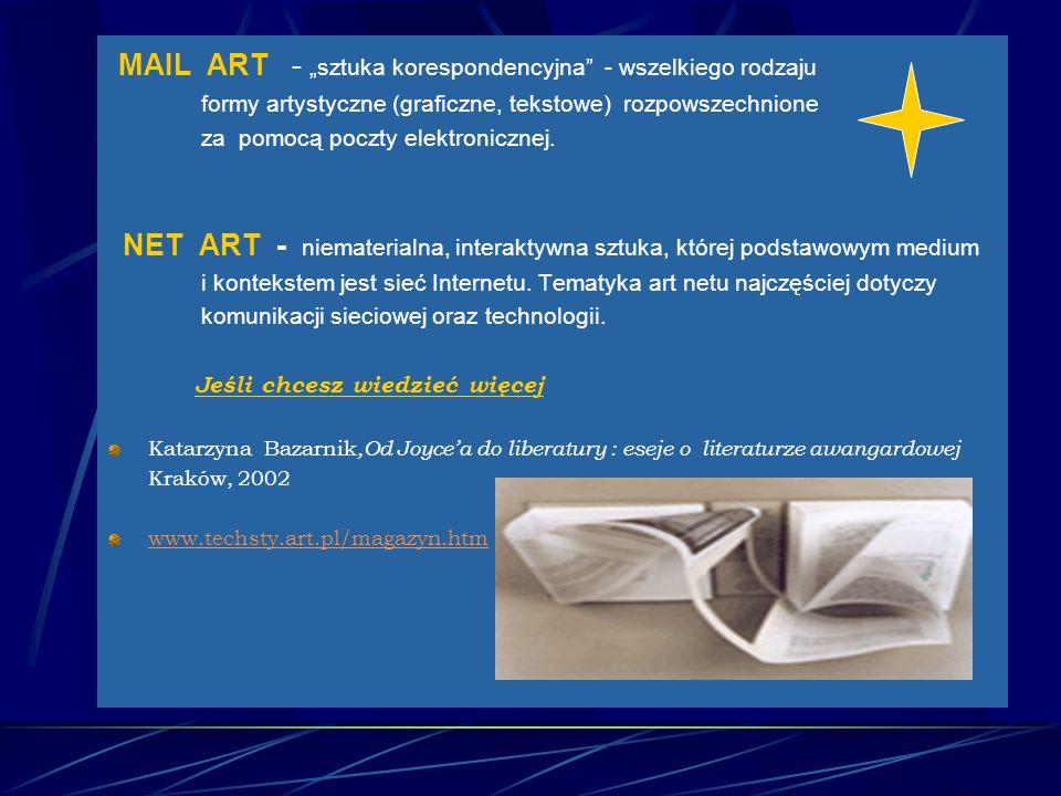 """MAIL ART - """"sztuka korespondencyjna - wszelkiego rodzaju"""