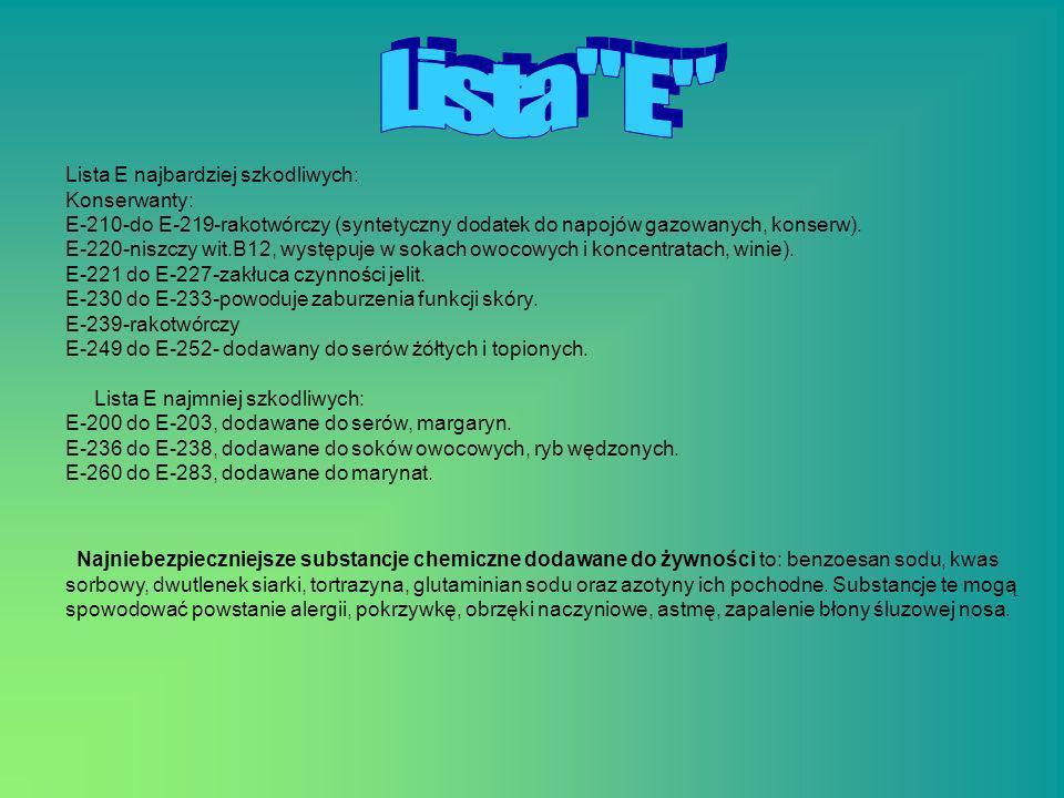Lista E