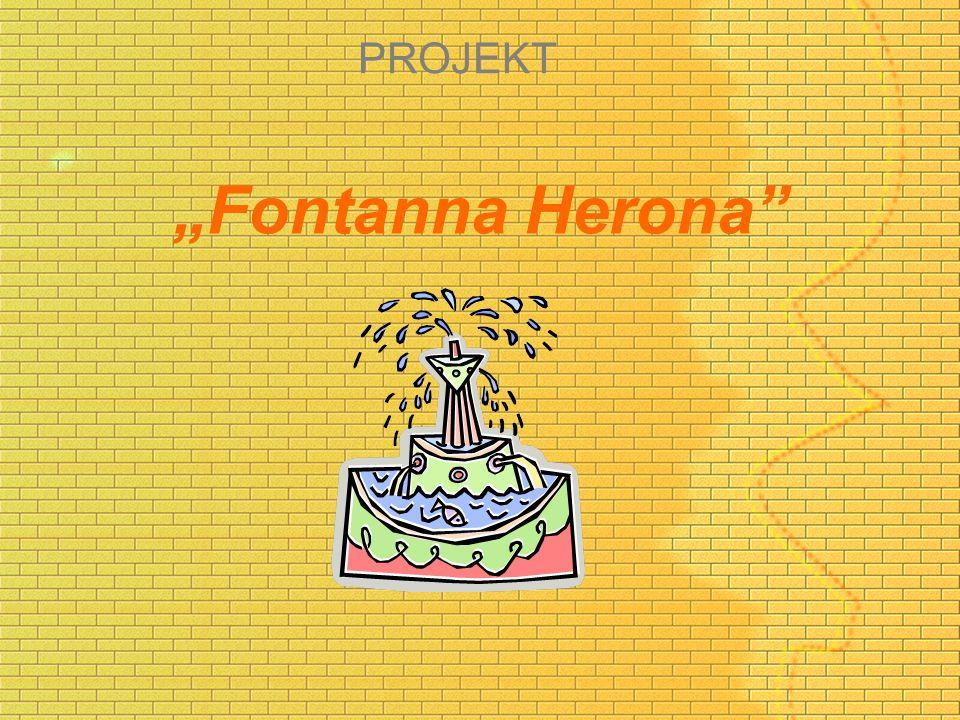 "PROJEKT ""Fontanna Herona"