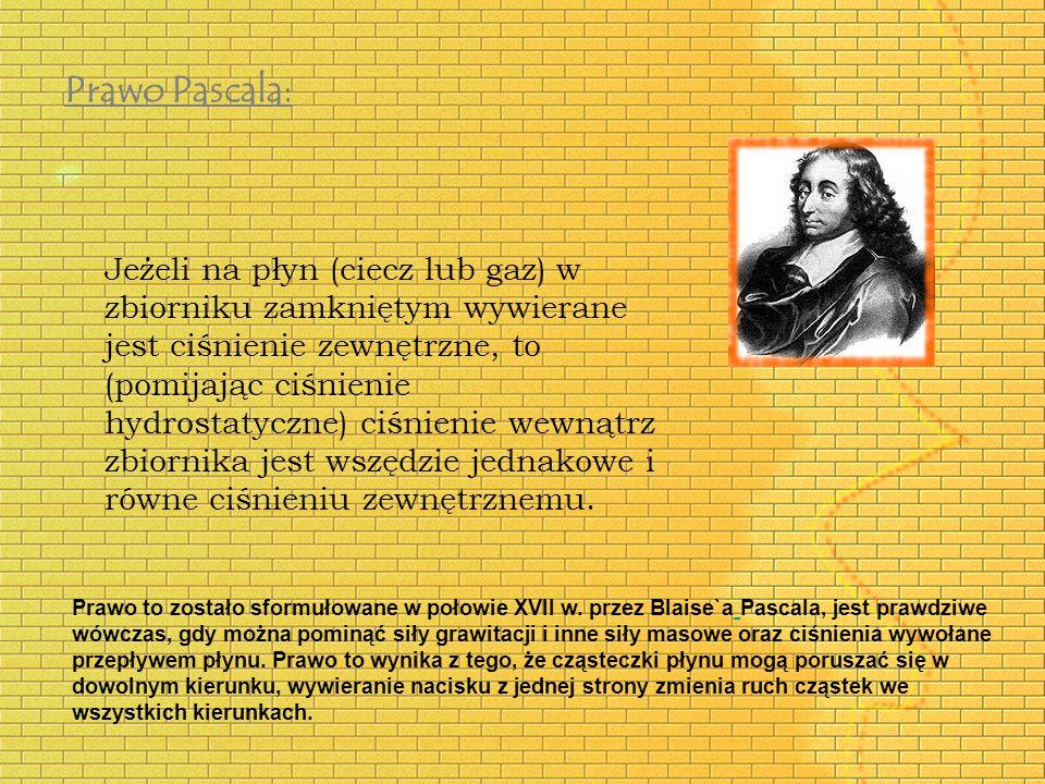 Prawo Pascala: