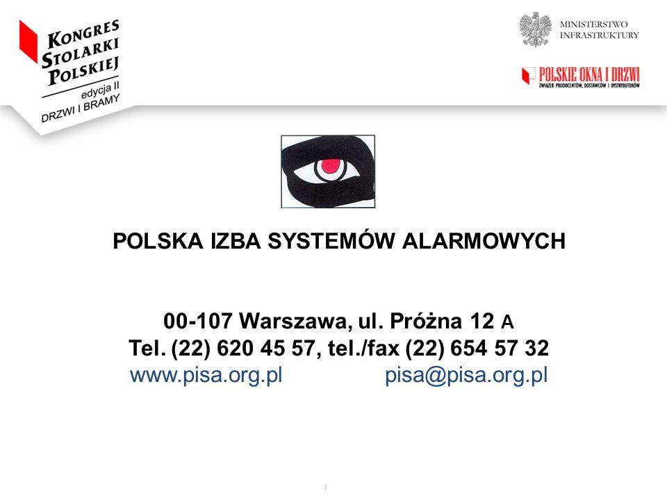POLSKA IZBA SYSTEMÓW ALARMOWYCH