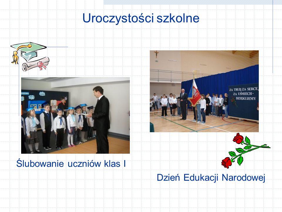 Uroczystości szkolne Ślubowanie uczniów klas I