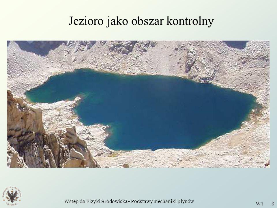 Jezioro jako obszar kontrolny
