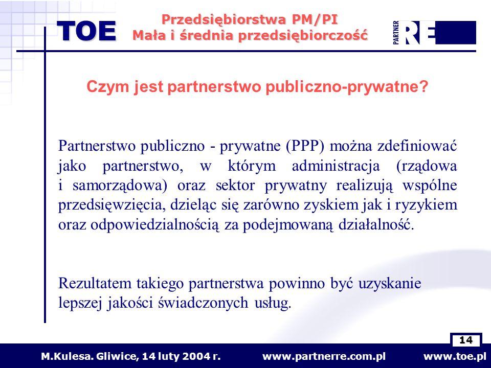 Czym jest partnerstwo publiczno-prywatne