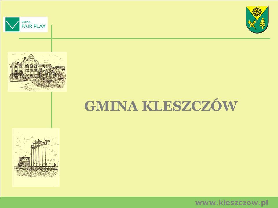GMINA KLESZCZÓW www.kleszczow.pl