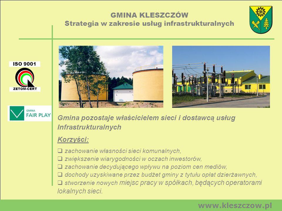 Strategia w zakresie usług infrastrukturalnych