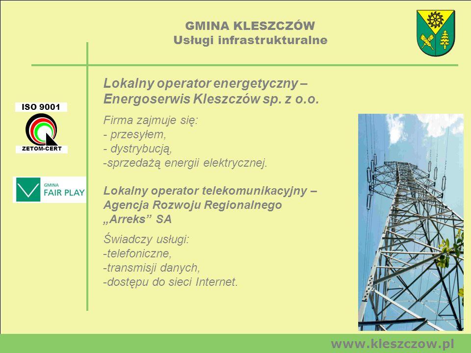 Usługi infrastrukturalne