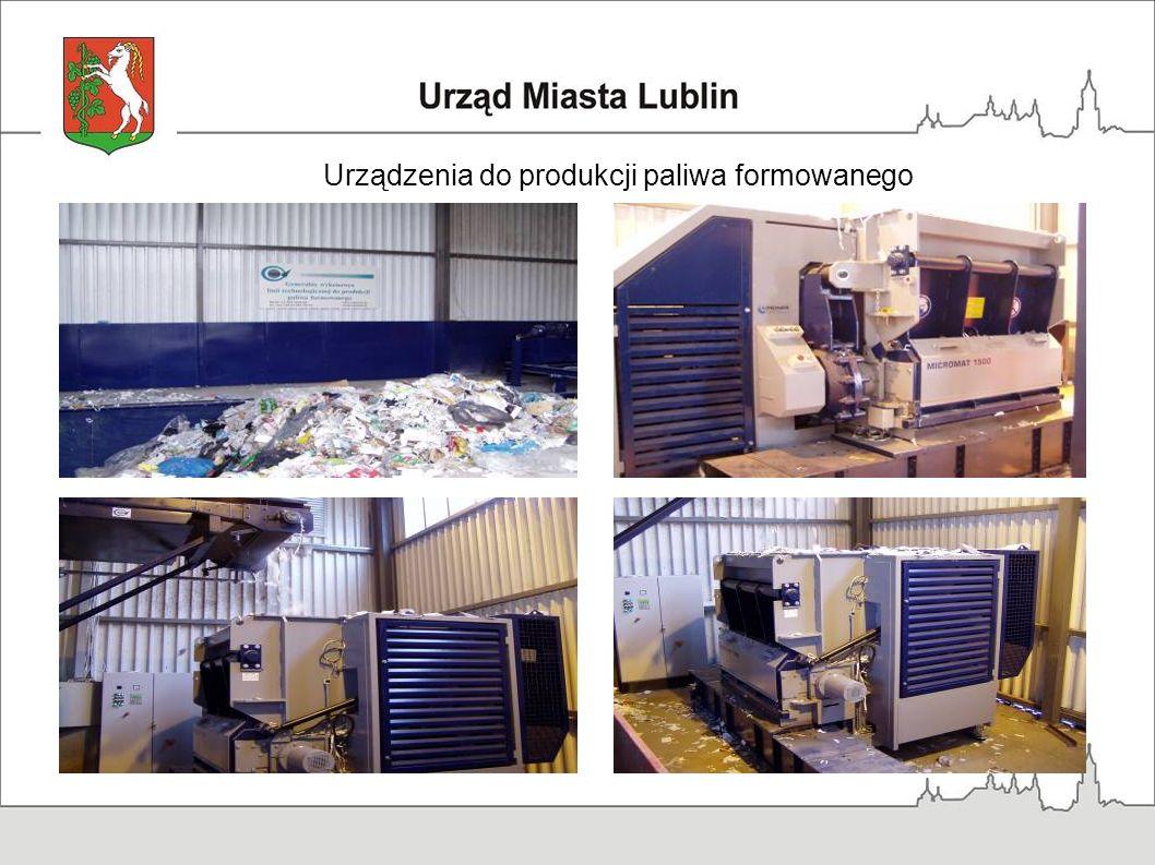 Urządzenia do produkcji paliwa formowanego