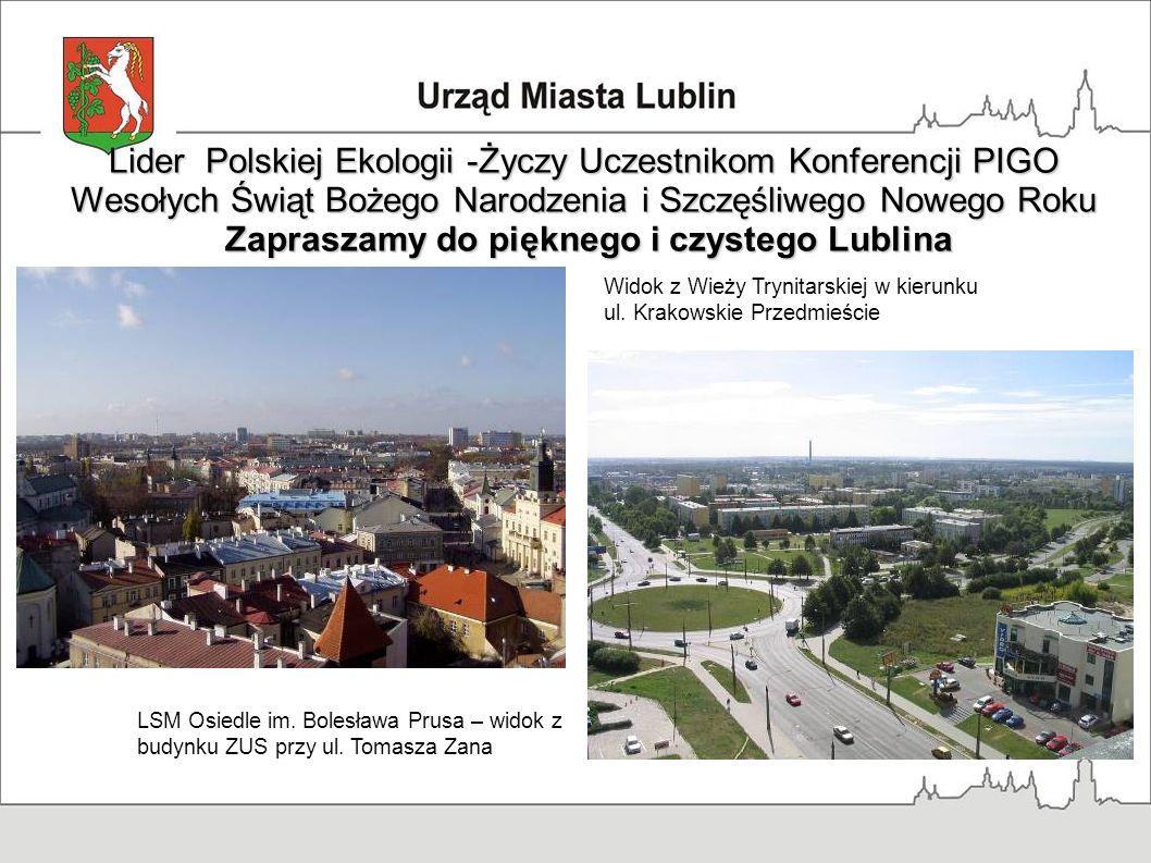 Lider Polskiej Ekologii -Życzy Uczestnikom Konferencji PIGO
