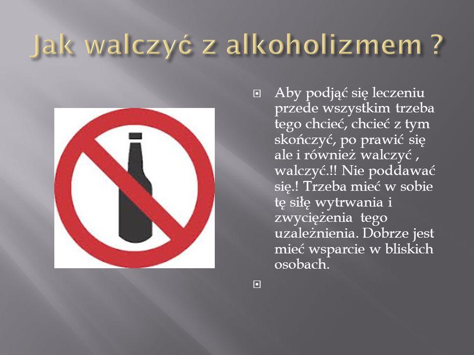 Jak walczyć z alkoholizmem