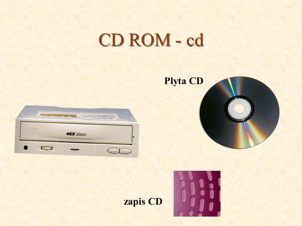CD ROM - cd Płyta CD zapis CD