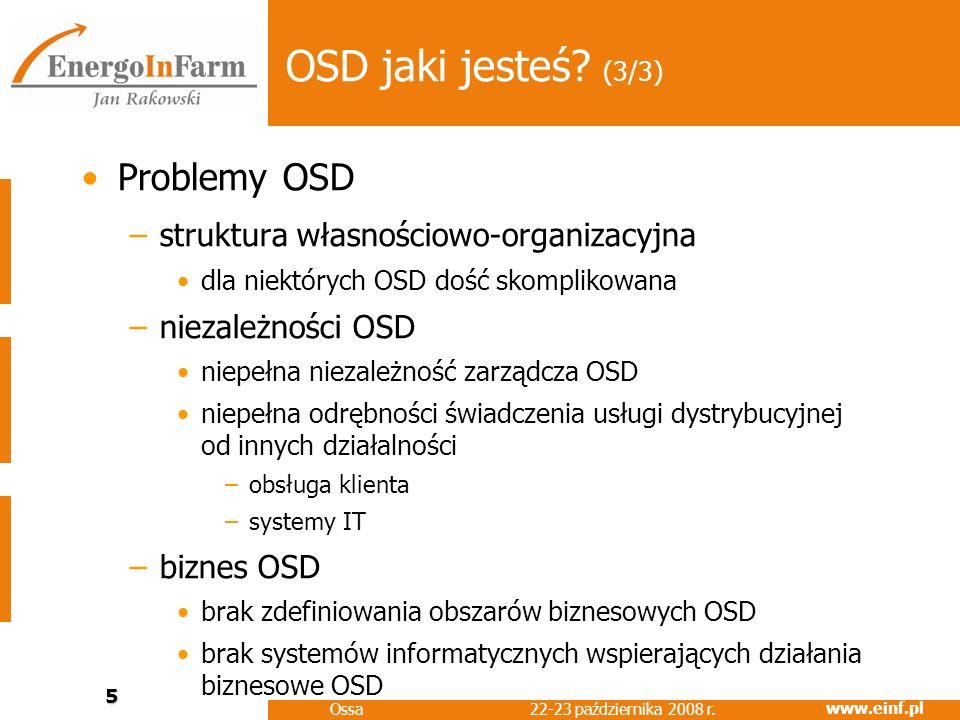 OSD jaki jesteś (3/3) Problemy OSD