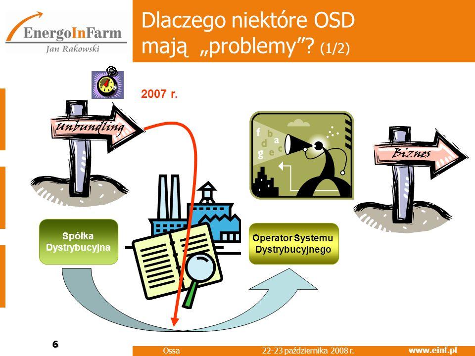 """Dlaczego niektóre OSD mają """"problemy (1/2)"""