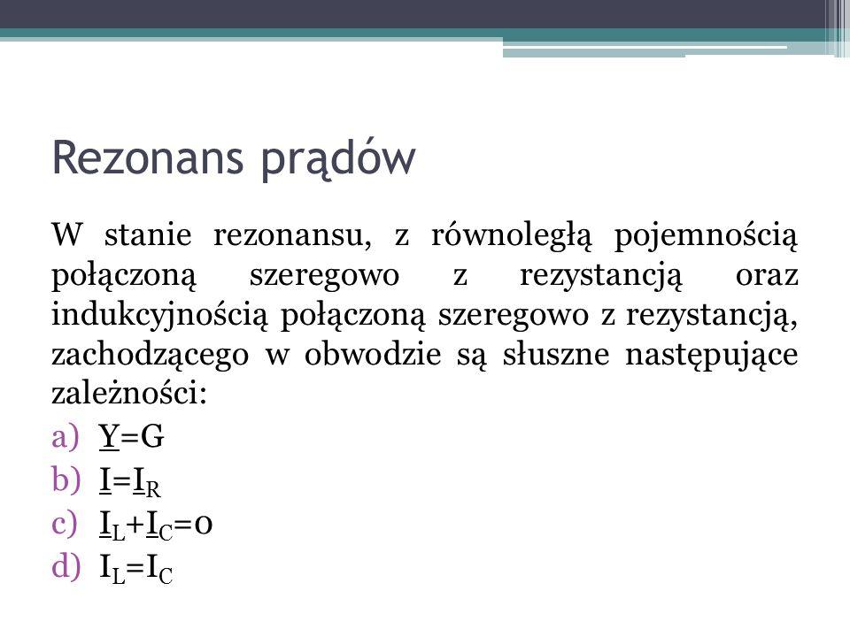 Rezonans prądów