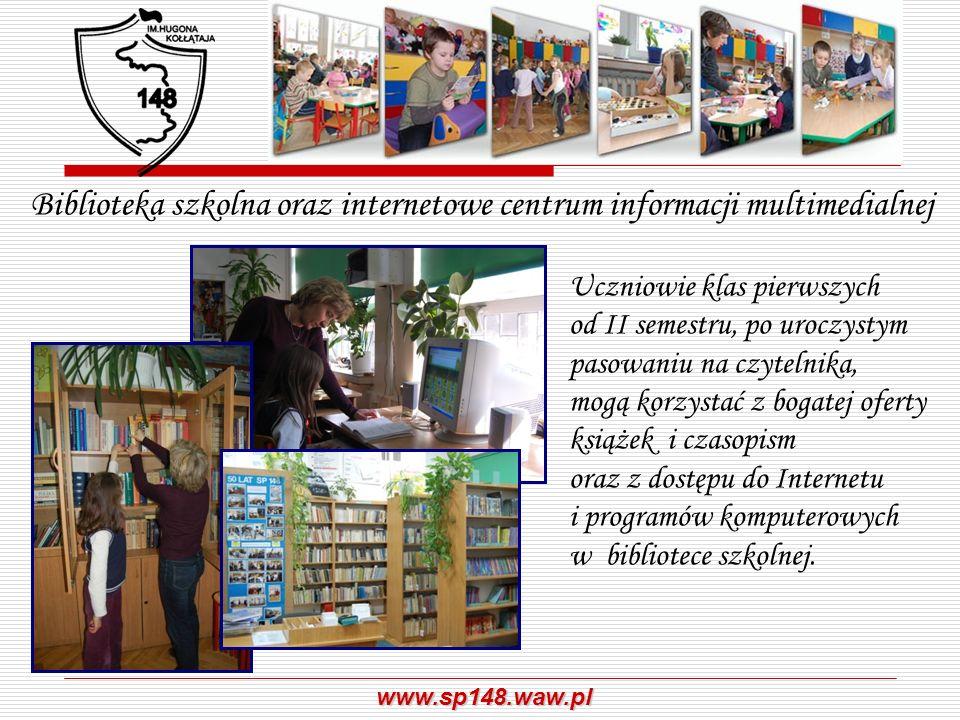 Biblioteka szkolna oraz internetowe centrum informacji multimedialnej