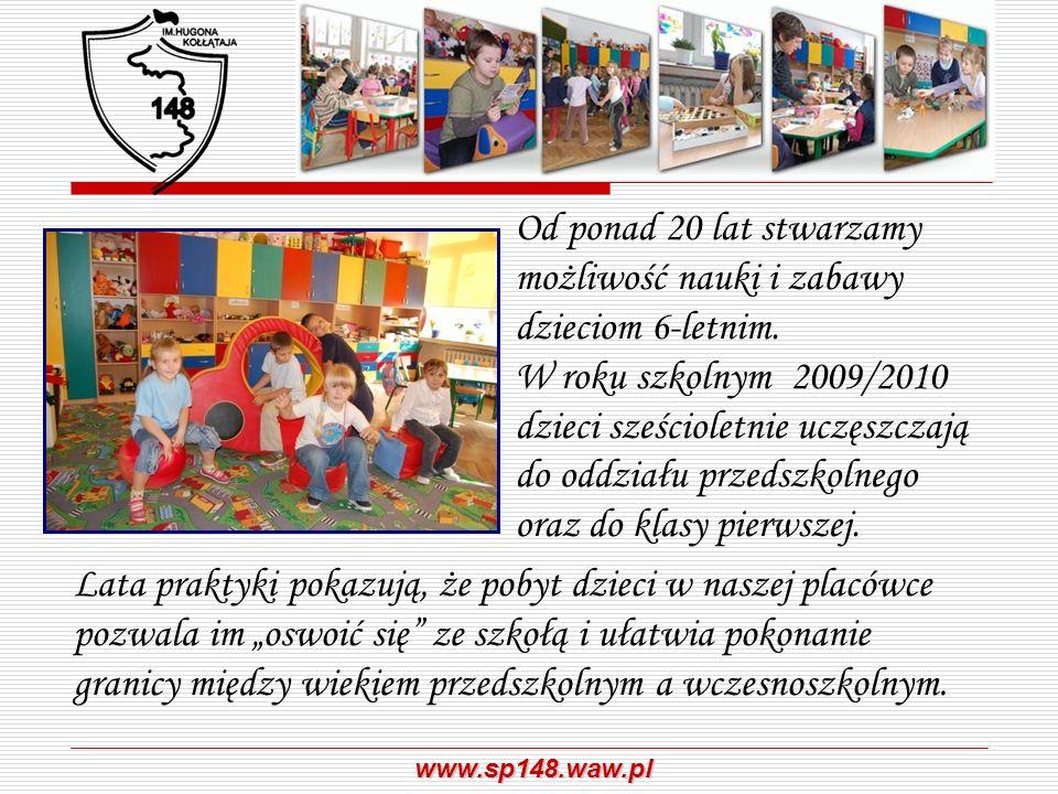 Od ponad 20 lat stwarzamy możliwość nauki i zabawy dzieciom 6-letnim