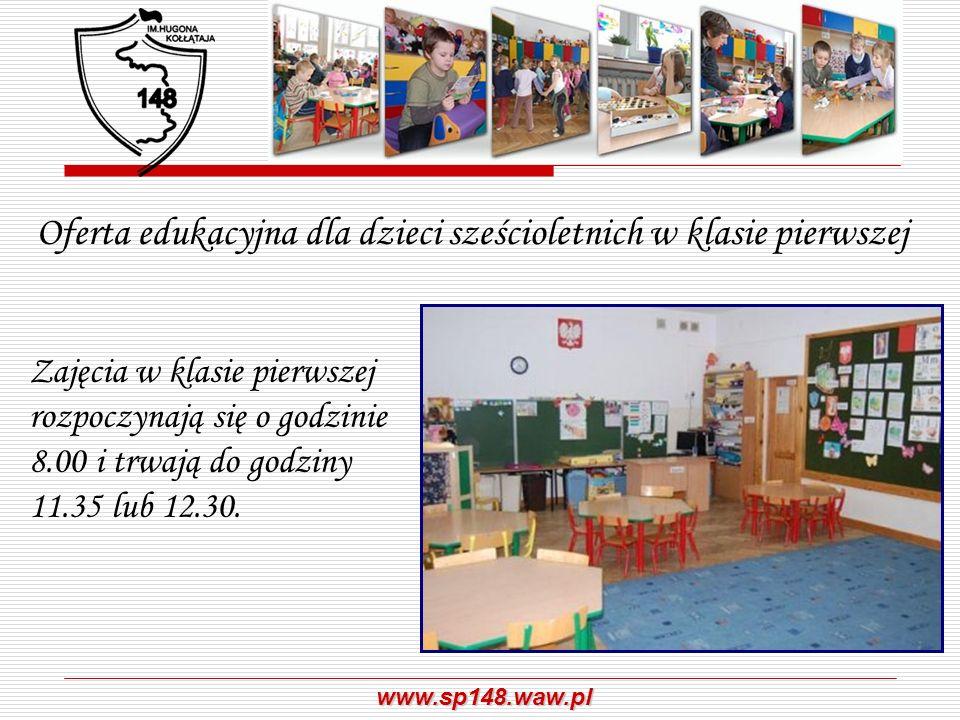 Oferta edukacyjna dla dzieci sześcioletnich w klasie pierwszej