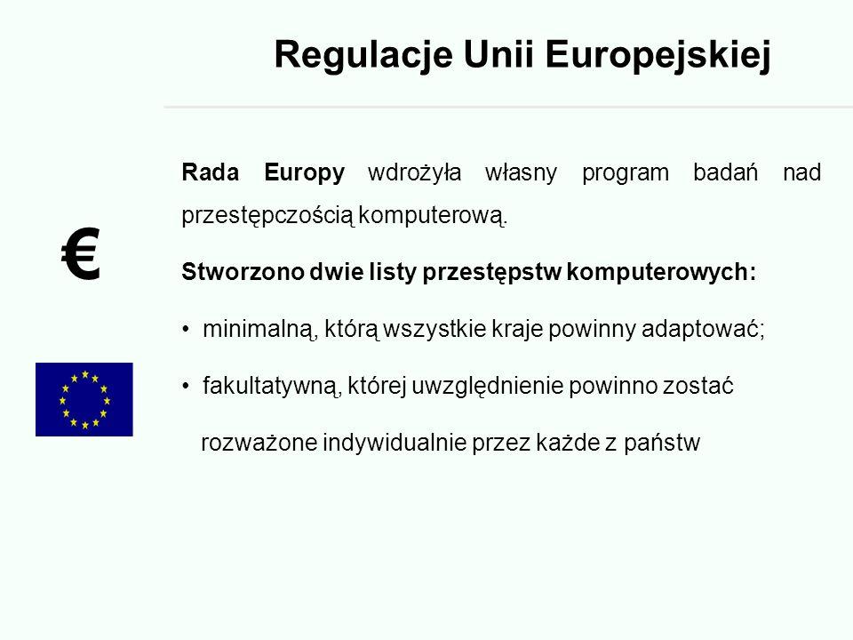 Regulacje Unii Europejskiej