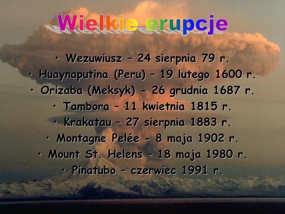 Wielkie erupcje Wezuwiusz – 24 sierpnia 79 r.