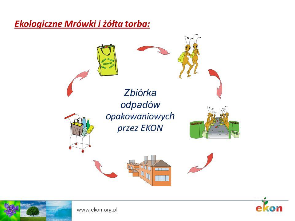 Ekologiczne Mrówki i żółta torba: