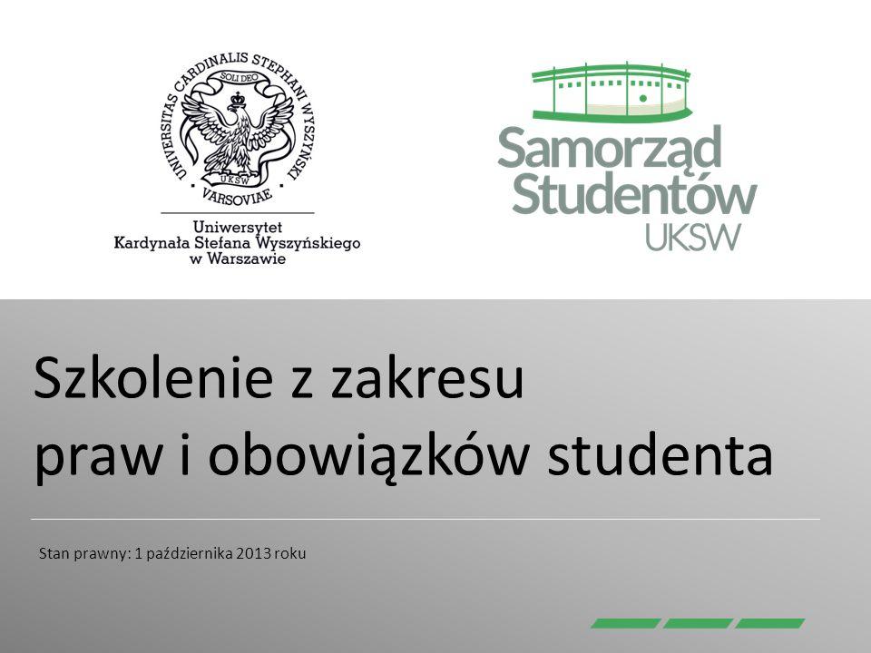 Szkolenie z zakresu praw i obowiązków studenta
