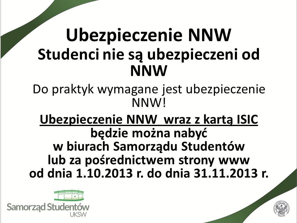 Studenci nie są ubezpieczeni od NNW