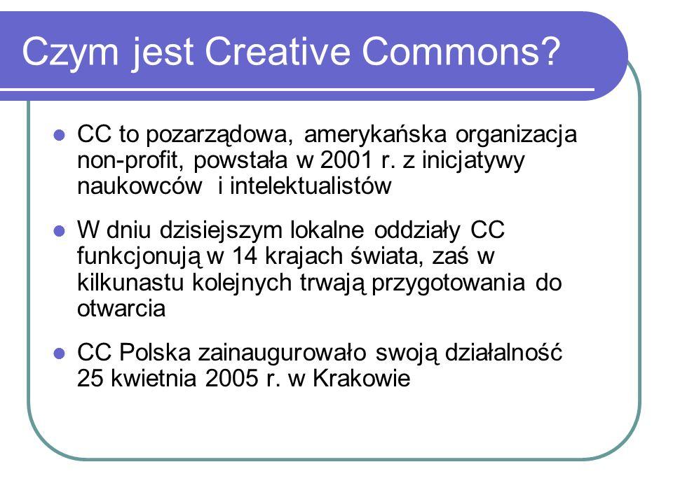 Czym jest Creative Commons