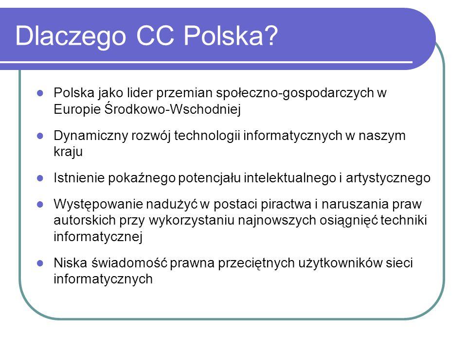 Dlaczego CC Polska Polska jako lider przemian społeczno-gospodarczych w Europie Środkowo-Wschodniej.