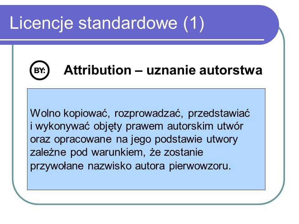 Licencje standardowe (1)