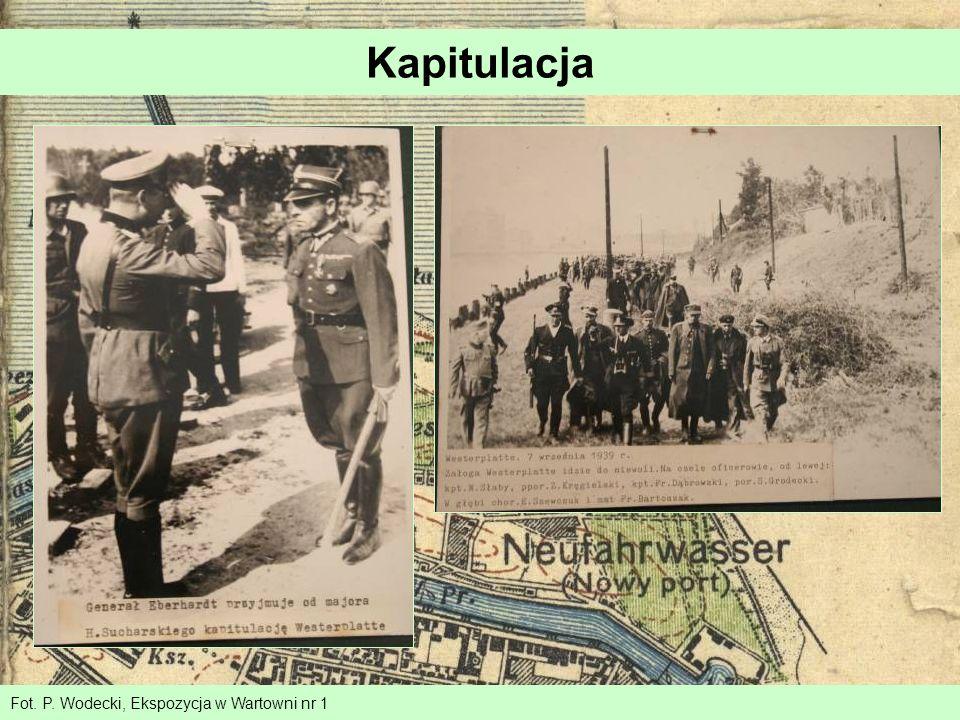 Kapitulacja Fot. P. Wodecki, Ekspozycja w Wartowni nr 1
