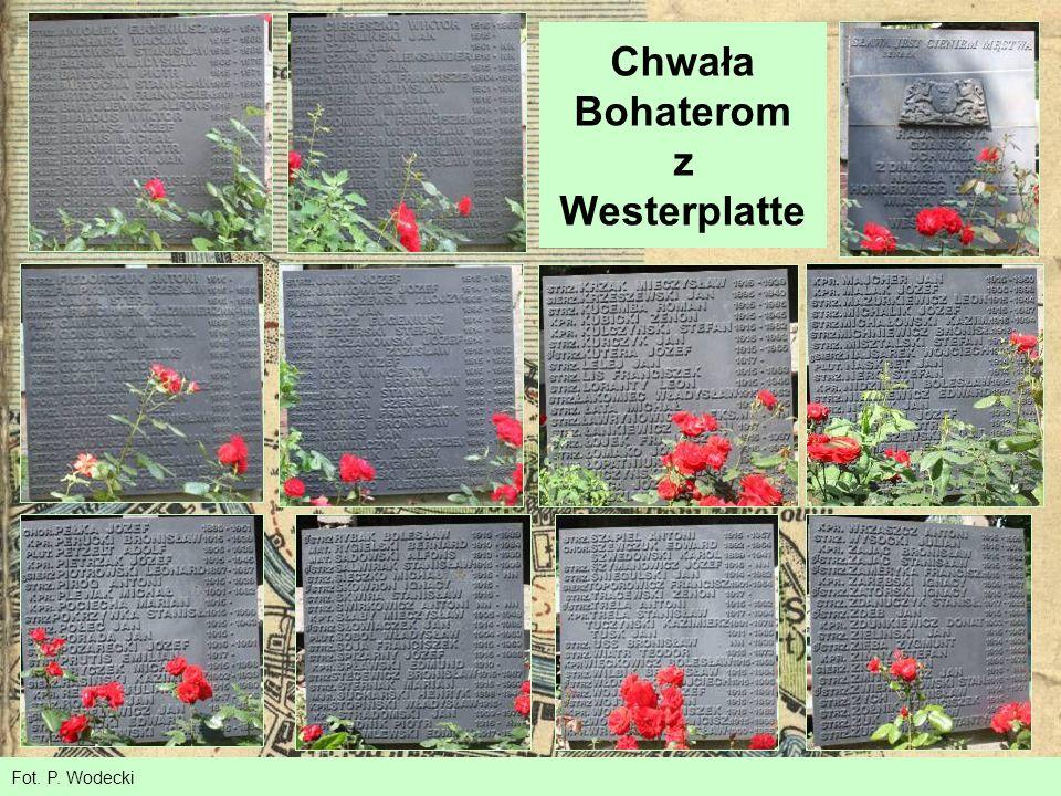 Chwała Bohaterom z Westerplatte