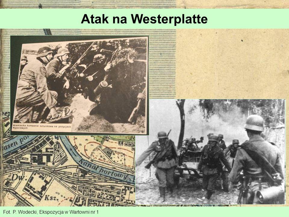 Atak na Westerplatte Fot. P. Wodecki, Ekspozycja w Wartowni nr 1