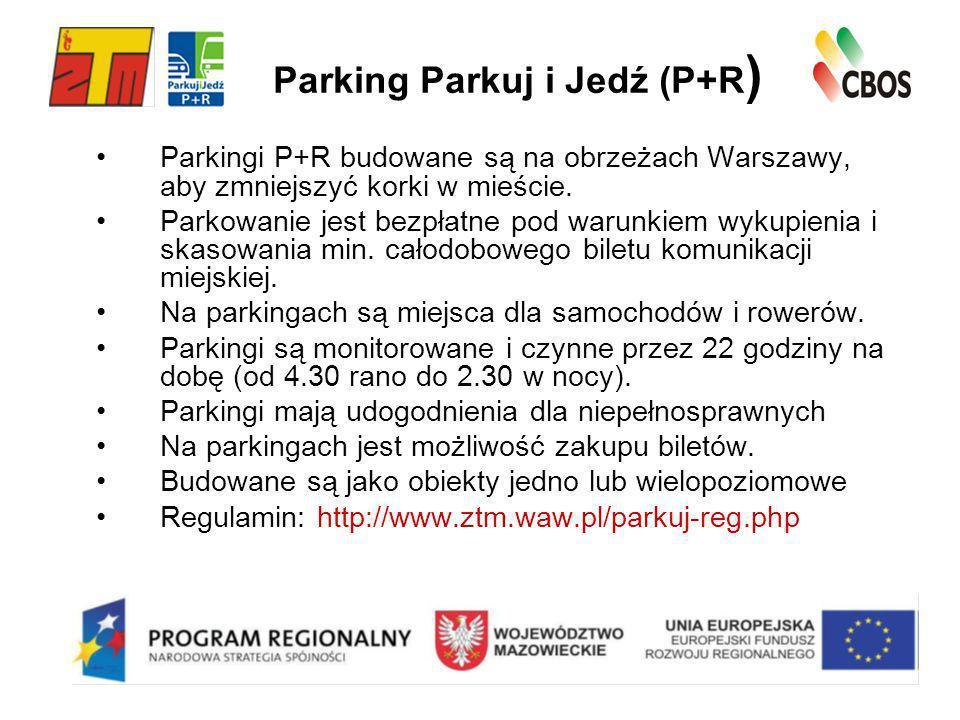 Parking Parkuj i Jedź (P+R)