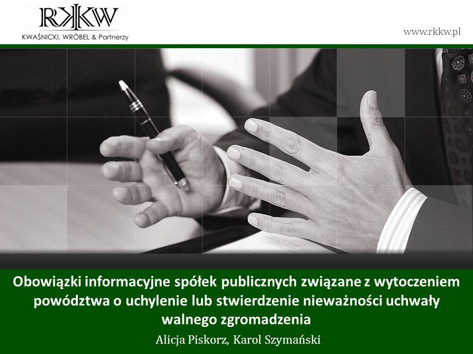 Tytuł prezentacji Alicja Piskorz, Karol Szymański
