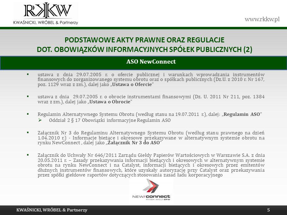 Tytuł prezentacji Podstawowe akty prawne oraz regulacje dot. obowiązków informacyjnych spółek publicznych (2)