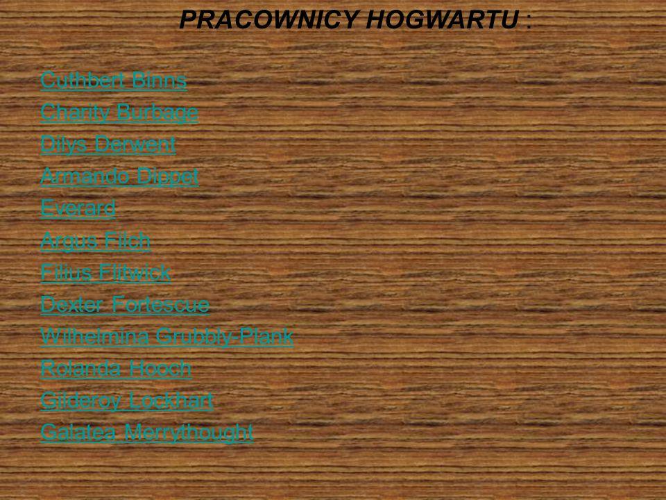 PRACOWNICY HOGWARTU :