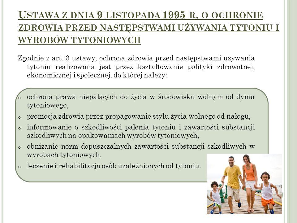 Ustawa z dnia 9 listopada 1995 r