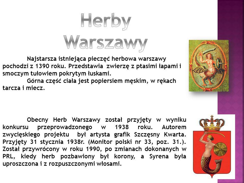 Herby Warszawy
