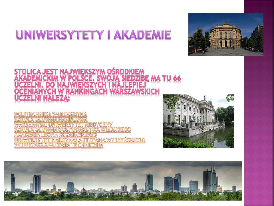 Uniwersytety i akademie