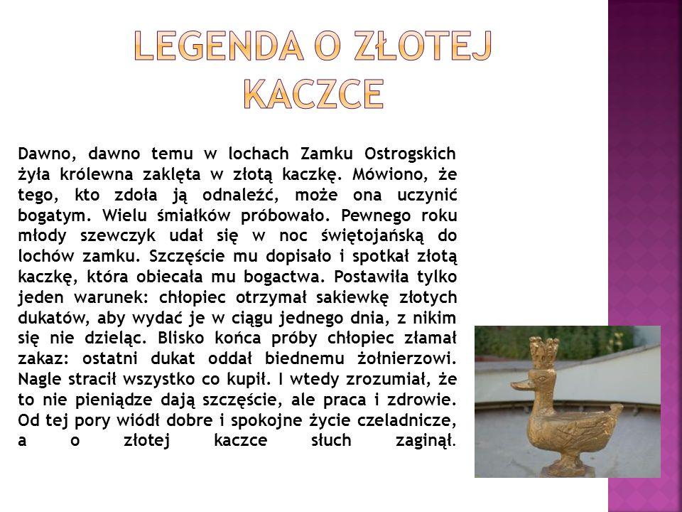 Legenda o Złotej kaczce