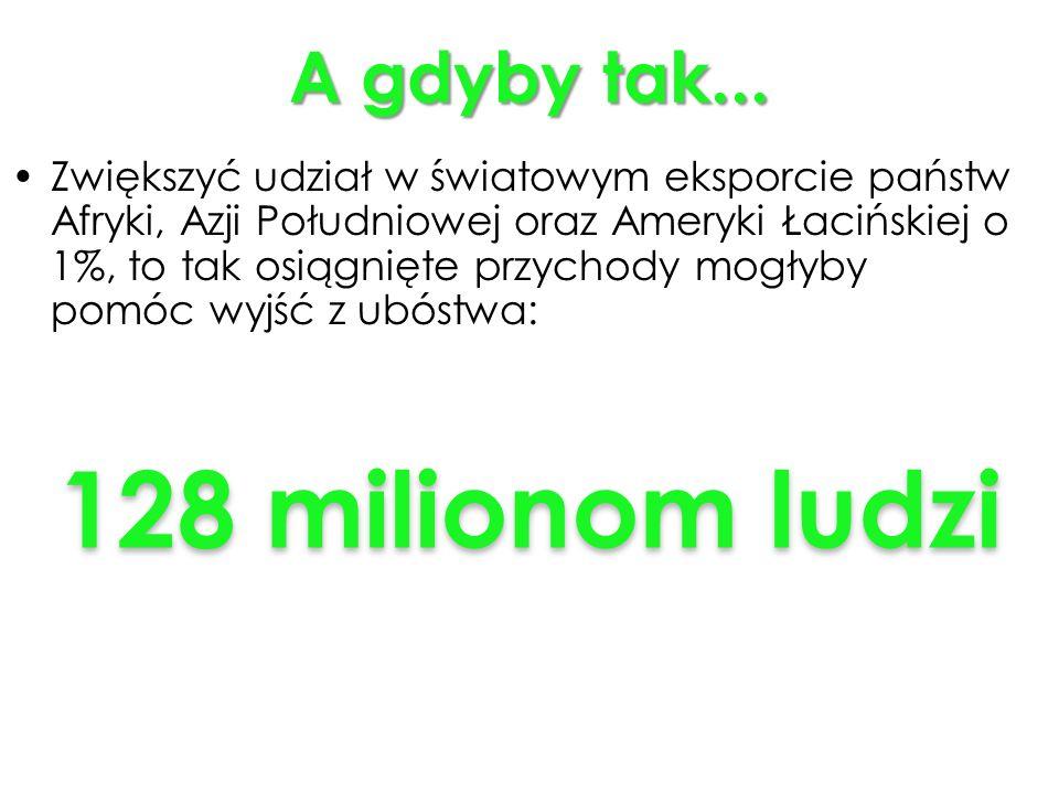 128 milionom ludzi A gdyby tak...