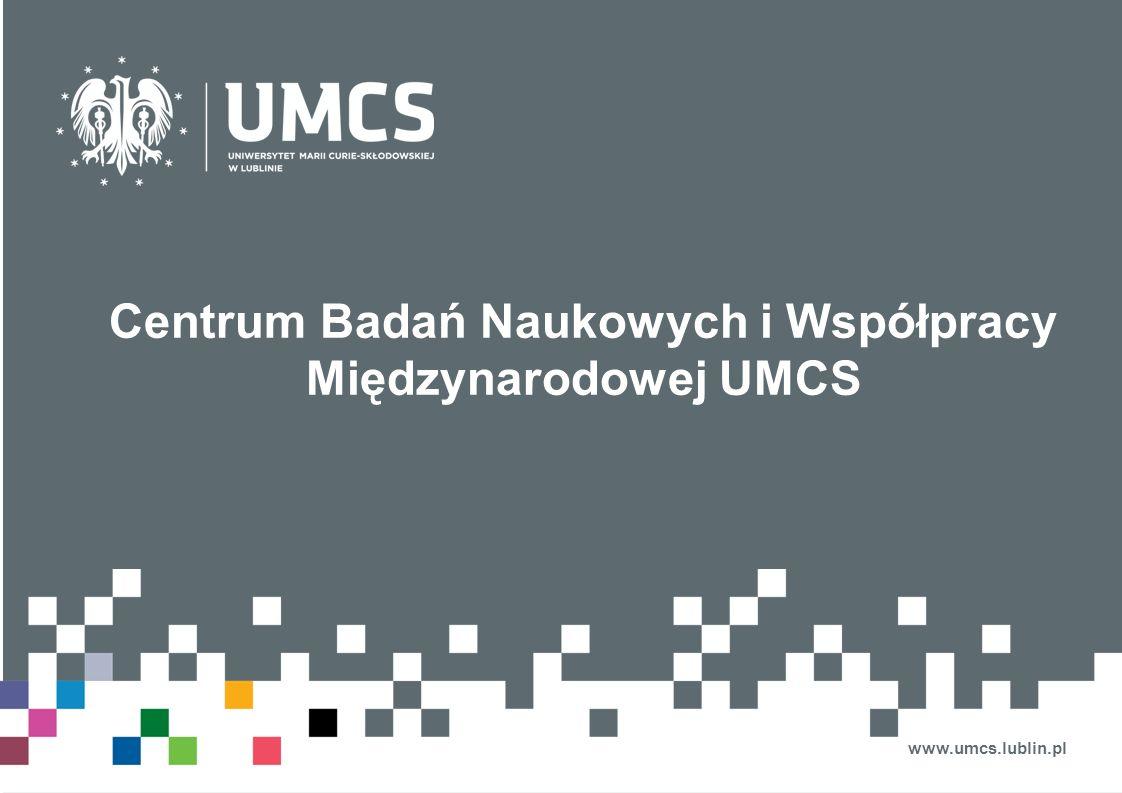 Centrum Badań Naukowych i Współpracy Międzynarodowej UMCS