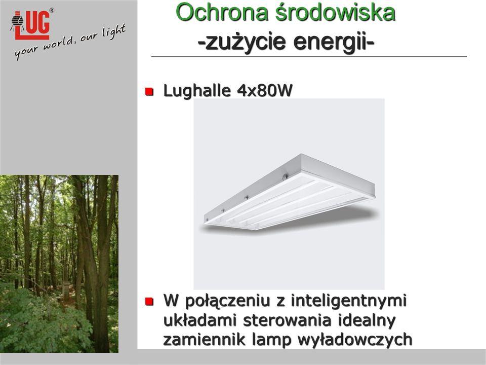 Ochrona środowiska -zużycie energii-