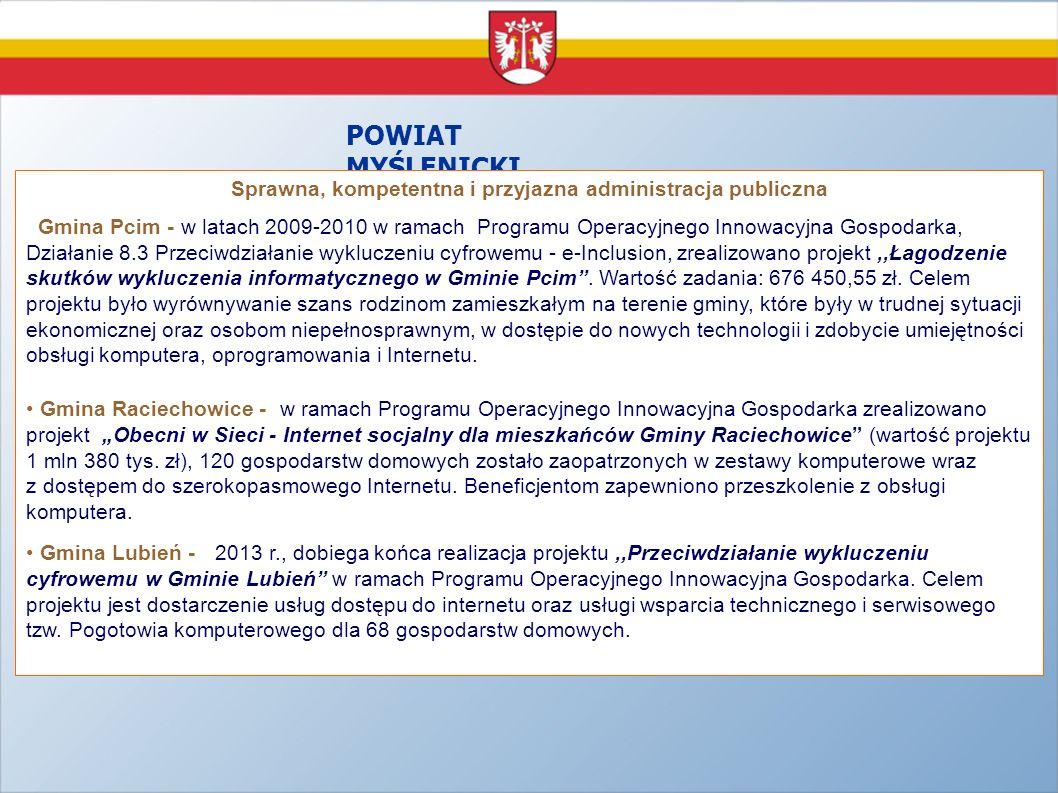 Sprawna, kompetentna i przyjazna administracja publiczna
