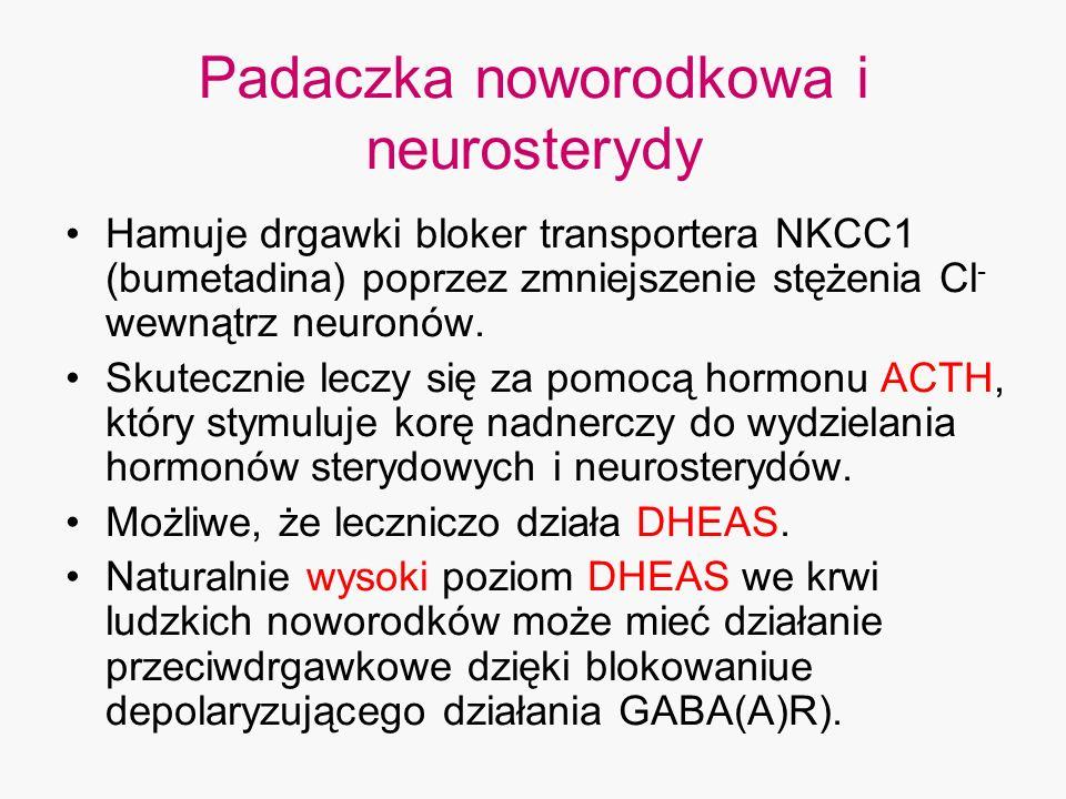 Padaczka noworodkowa i neurosterydy