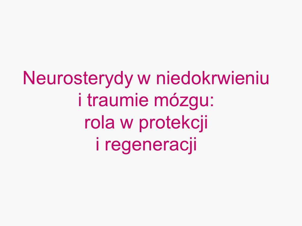 Neurosterydy w niedokrwieniu i traumie mózgu: rola w protekcji i regeneracji