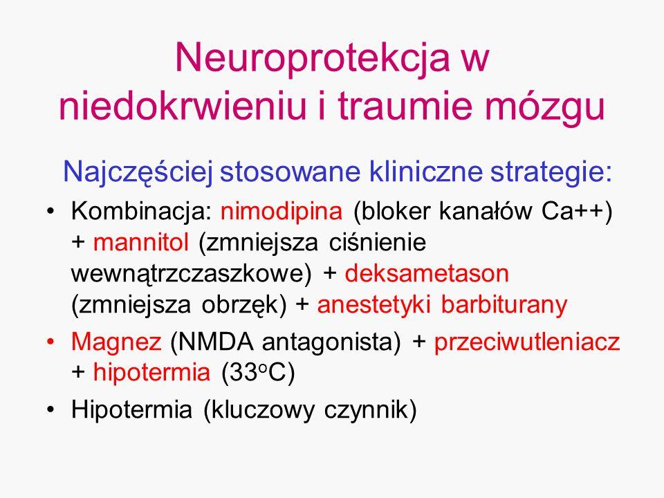 Neuroprotekcja w niedokrwieniu i traumie mózgu
