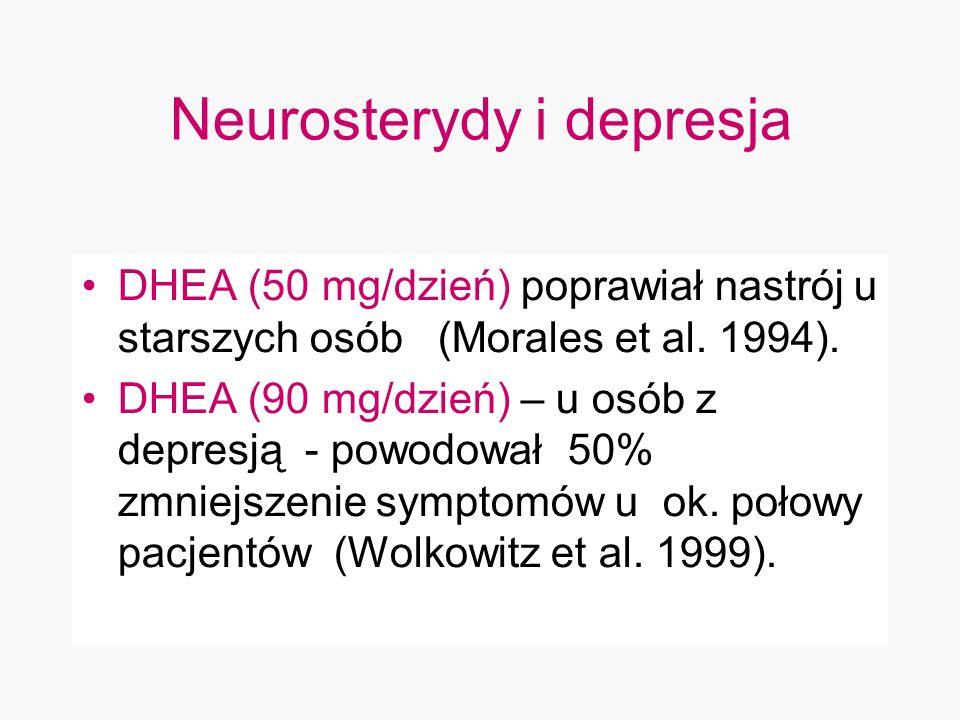 Neurosterydy i depresja