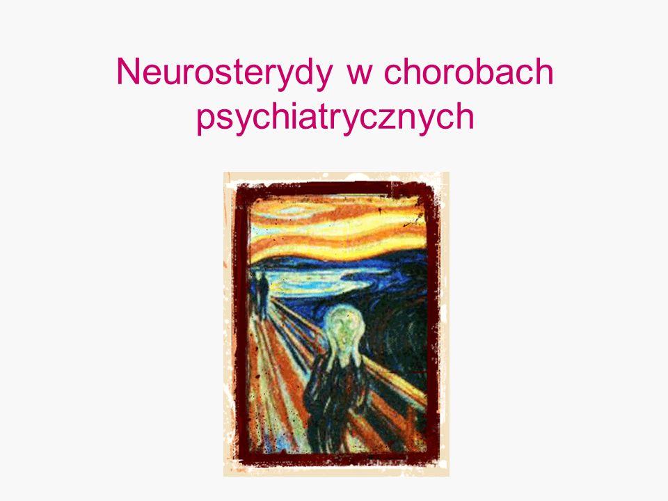 Neurosterydy w chorobach psychiatrycznych