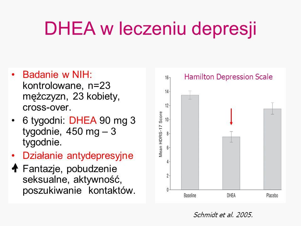 DHEA w leczeniu depresji